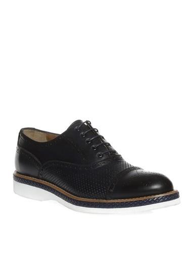 Divarese Divarese Erkek Deri Günlük Ayakkabı Lacivert